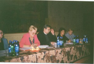 Президиум учредительного съезда-Нечаева М.А.,Мурашко С.Н.,Иванов В.И.,Сизова Г.В,Волобуева В.Ф.